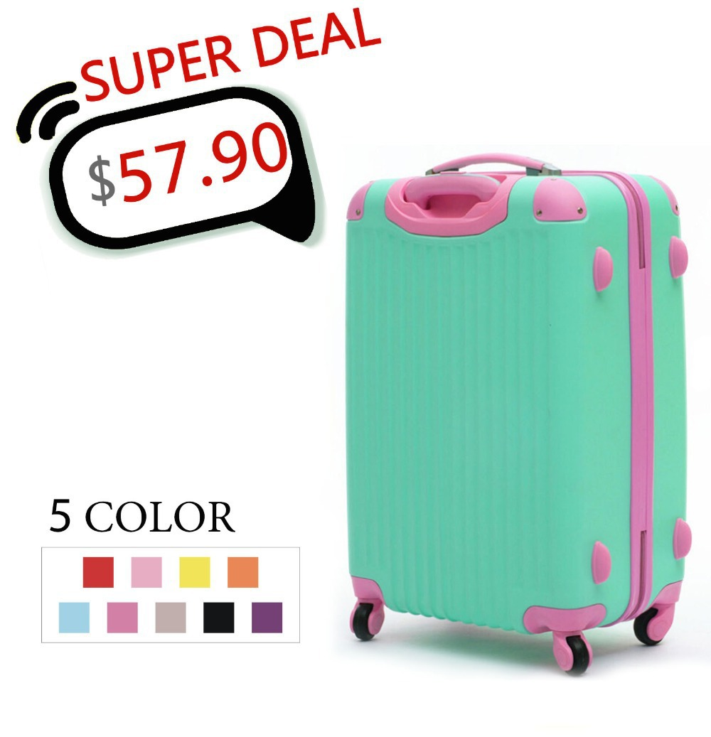 20,24,28 Inches,Women Travel Suitcases,Luggage Travel Bag,ABS Travel Luggage,Rolling Luggage,CA004(China (Mainland))