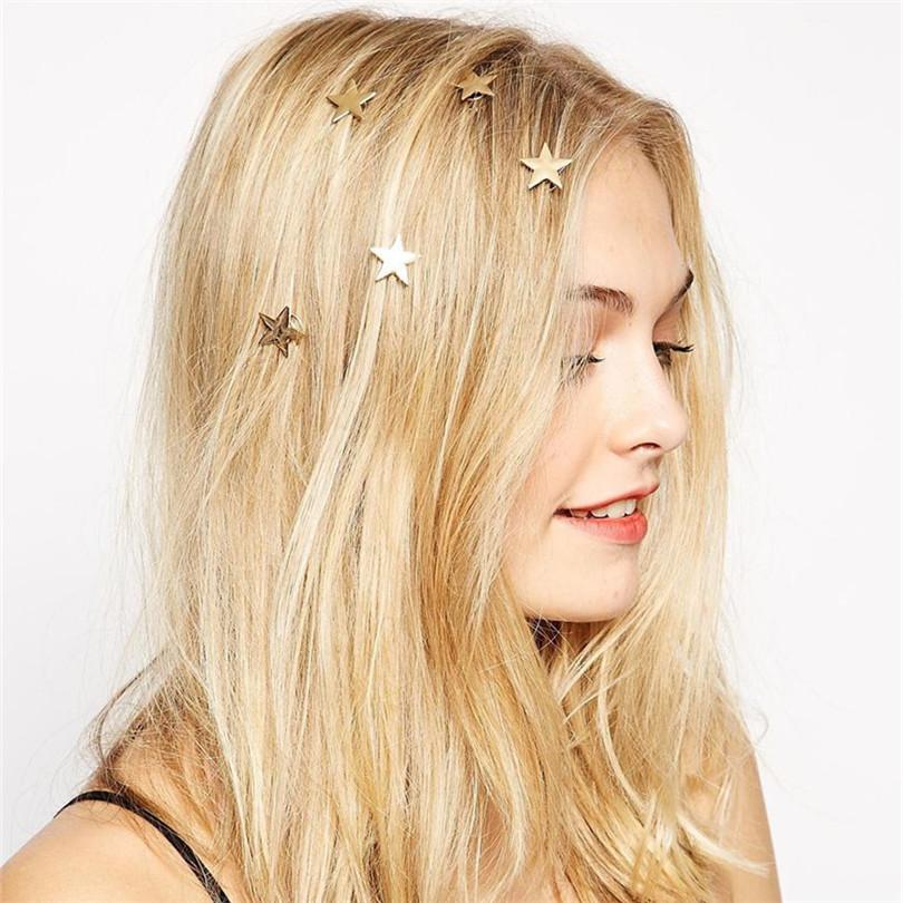 Fashion Hairwear Girl Korean Stylish Chic Starfish Beach Sea Star Hairpin Hair Clip Accessories 2015 fashion jewelry for women(China (Mainland))
