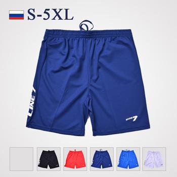 Большой размер s-5xl, Мужская спорт футбол / бег / бадминтон / фитнес шорты марка ...