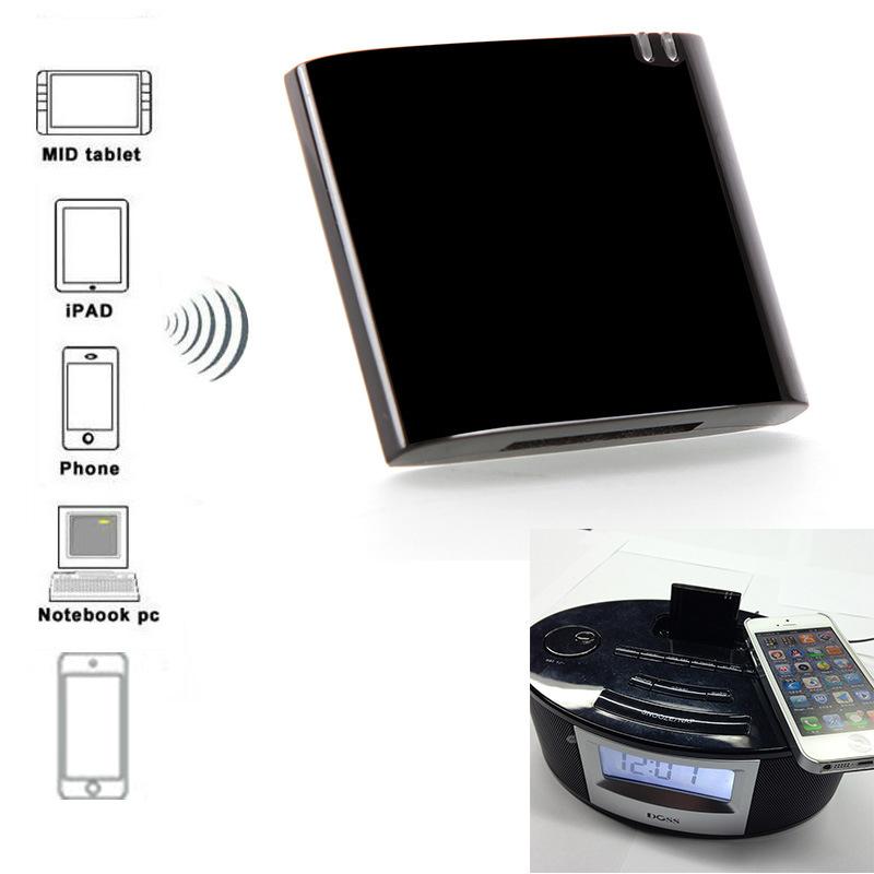 30Pin Dock APT-X Mini CSR4.0 Bluetooth Receiver Bluetooth A2DP Music Receiver Bluetooth Audio Adapter for iPad iPod iPhone(China (Mainland))