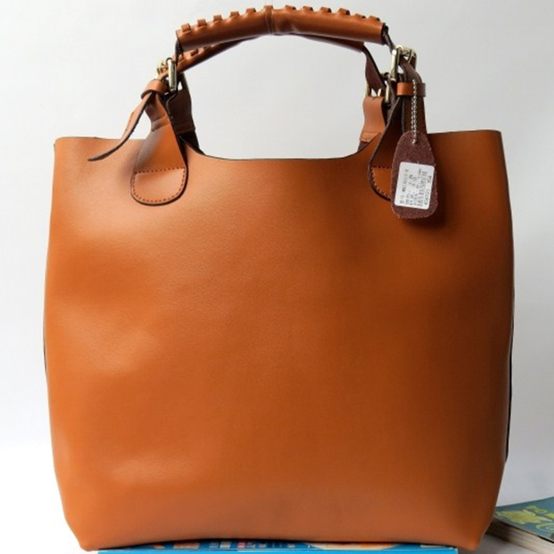 Гаджет  Promised 100% Genuine Leather Handbags Of Famous Brand Design Vintage Women Shoulder Bags Totes Handbag None Камера и Сумки