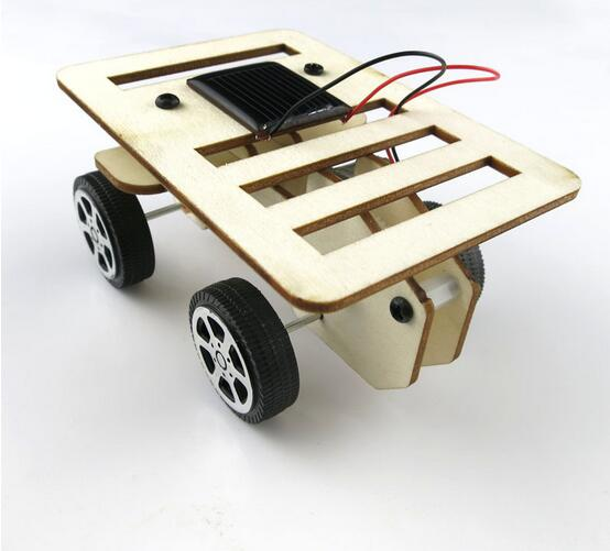 Solar car DIY QianShui star 1 small manufacture technology Educational toys The children's palace science material package(China (Mainland))