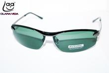 High Quality Soldier Model Driver's Tac Enhanced Polarized Polaroid Polarised Golf Uv 400 Men's Sunglasses With Foam Bag Box(China (Mainland))