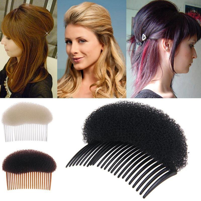 YeJia Fashion Women Girls Hair Accessories Ladies Hair Styling Clip Stick Bun Maker Braid Tool Hair Combs White Black Brown(China (Mainland))