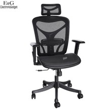2016 New Modern  ANCHEER  Mesh Office Chair High Back Executive Computer Desk Task Black Free Shipping 68(China (Mainland))