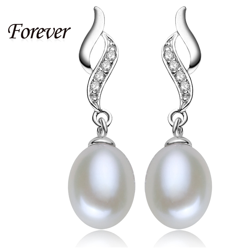 99% off for mother's day gift!Natural Pearl Stud Earrings 925 Earrings for women for love mother fine jewelry cc pearl jewelry(China (Mainland))