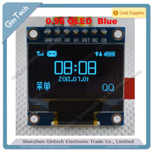 free shipping 1pcs  0.96 inch OLED display module 128X64 , OLED for arduino I2C IIC SPI  7p, driver chip SSD1306, high quality(China (Mainland))