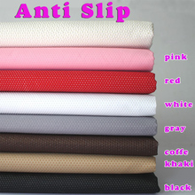 Anti Slip vinyl, Non slip fabric rubber,  Non Skid Rubber Treated Fabric, Solid colors, Sold by the yard, Free shipping!(China (Mainland))