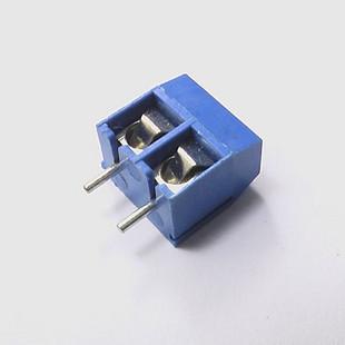 20pcs 2 Pin Screw Terminal Block Connector 5mm Pitch B(China (Mainland))