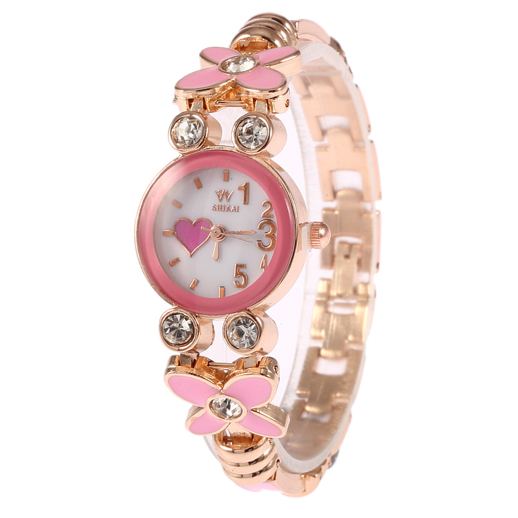Christmas Vacation New Hot Sale Female 5color Stainless Steel Ceramic Watches Fashion Lady High Quality Luxury Brand Watches(China (Mainland))
