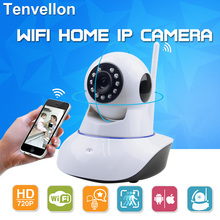 Buy 720P Security Network CCTV WIFI IP camera Megapixel HD Wireless Security Camera IR Infrared Night Vision Surveillance Camera for $27.49 in AliExpress store