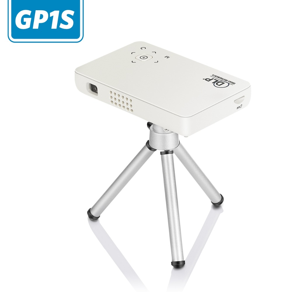 Mini Pocket Projector GP1S DLP Beamer 500 Lumen Home Theater Support Micro SD USB MHL Handheld Projector For Mobile Phone BY DHL(China (Mainland))