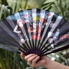 Top Naruto Weapon  Folding Fan Konoha Ninja Village Sasuke kakshi Itachi(China (Mainland))