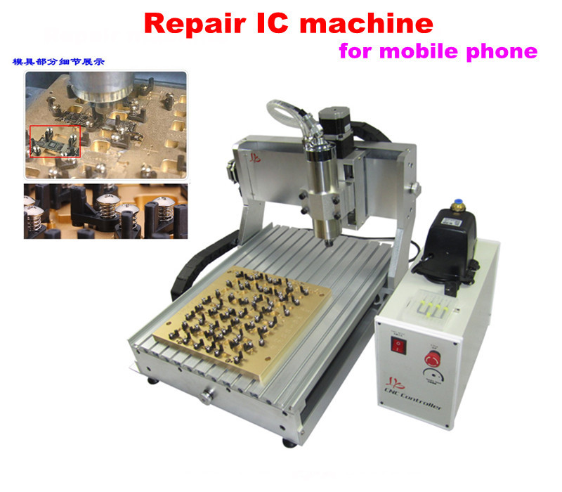 Newest iphone IC router LY 3040 mould 10 in 1 CNC milling polishing machine for iphone mainboard repair(China (Mainland))