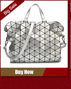 womens bags Bao Bao brand logo 2016 ladies famous designer handbags hologram cross body bags big tote hand bags sac a main femme