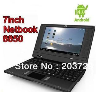 "Wholesale - Best V702 Android 4.0 OS 7""Netbook 512M 4G Camera HDMI WIFI 3G Via8850 Free shipping"