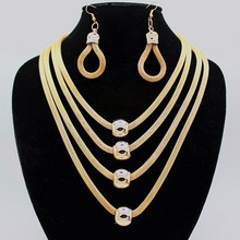 2015 New Simple Elegant Chain Star Design Jewelry Chain Necklace Multi Layer Necklace Gold Necklace For Women(China (Mainland))