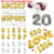 1pcs 30 inch Gold/Silver Alphabet/Letter Balloons Aluminum Foil Balloons Number Balloon Birthday Party Wedding Decoration