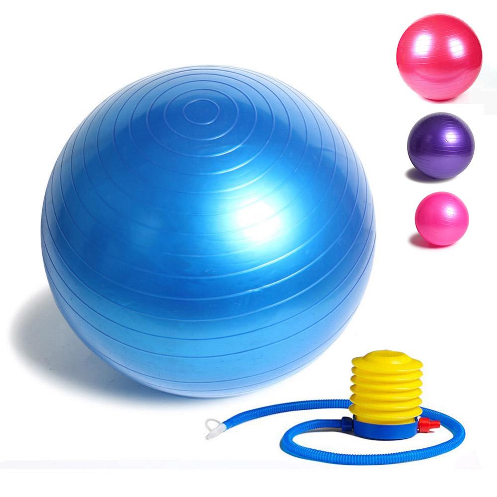 Fitness Yoga Ball 85cm Smooth Balance Fitness Gym Exercise Ball With Pump Balance Pilates Balls(China (Mainland))
