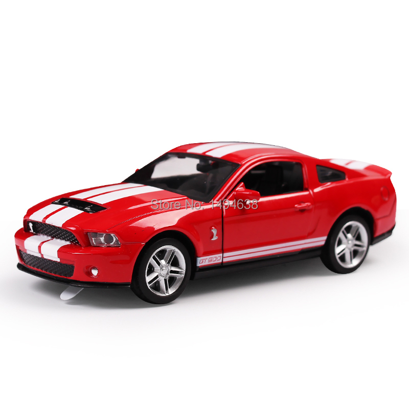 1:32 Scale Models Metal Diecast Mustang Car Toys For Children Boys Miniature Sound and Light Model Car Gift with Simple Package(China (Mainland))