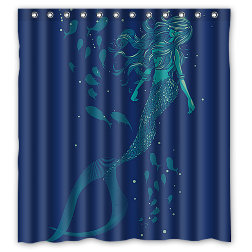 Vintage bathroom decor related keywords vintage bathroom for Mermaid bathroom decor vintage