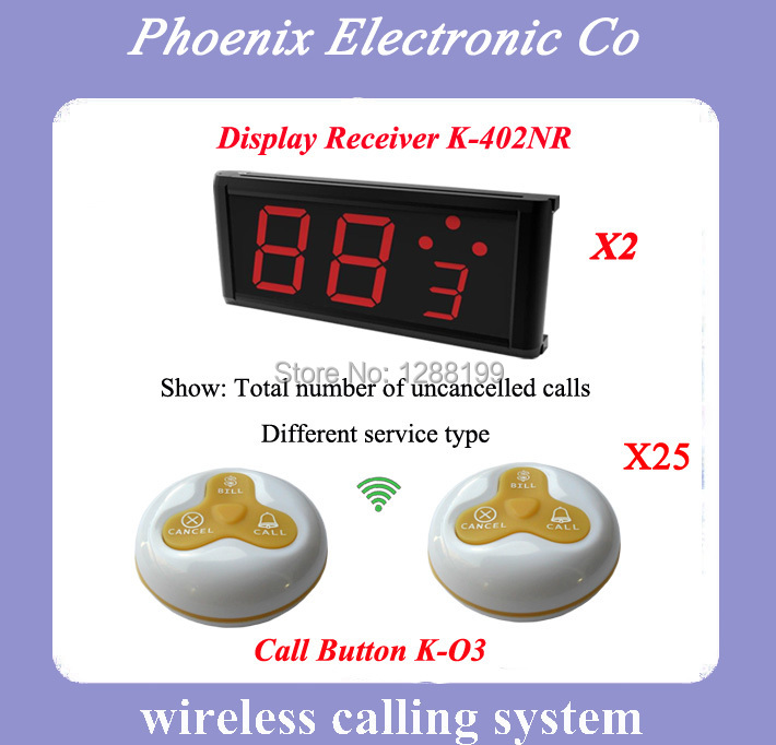 Best Price,315MHZ,Hotel Restaurant Equipment Service Bell System, Coffee Club, Tea House, Free DHL SHIPPING(China (Mainland))