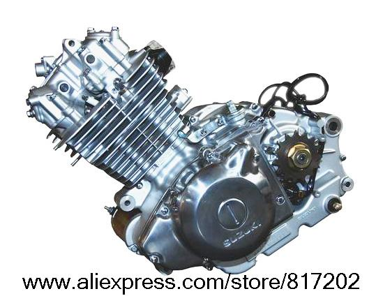 NEW FREE SHIPPING SUZUKI GN250 GN 250 ENGINE COMPLETE