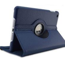 Nuevo para iPad mini 1 mini 2 mini 3 funda 360 rotación Flip Stand A1432 A1454 protector 7,9 ''Casefor funda inteligente para iPad mini 1 2 3(China)