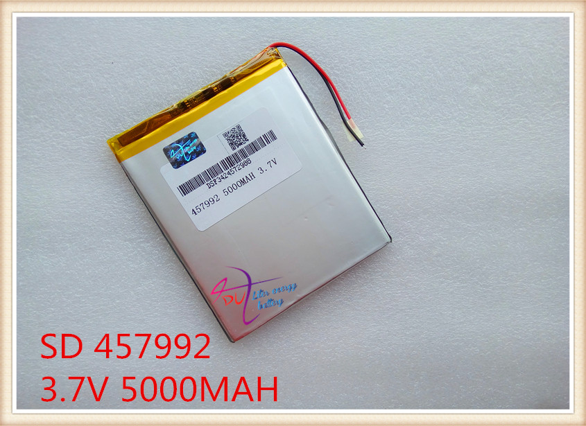 3.7V 5000mAH Li-ion( Polymer lithiumion) battery for 7 8 or 9 inch tablet PC ICOO D70pro II,Onda,Sanei 4.5*79*92mm Free Shipping(China (Mainland))