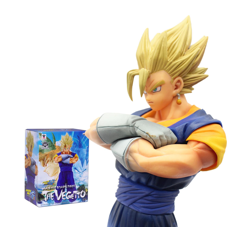18CM Japanese Anime Dragon BALL Z Master Starspiece VEGETTO SON GOKU GOHAN Vegeta Kakarotto Action Figure PVC Model Toy(China (Mainland))