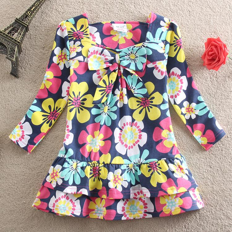 Платье для девочек FLAGS 2015 baby vestidos L335 Q902 платье для девочек avito baby vestidos 2014112421