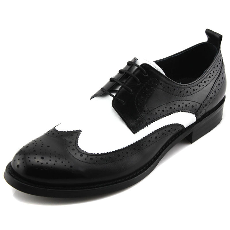 New WOUFO2013 mens formal business shoes Genuine Leather Mens shoes England pointed ventilating shoes<br><br>Aliexpress