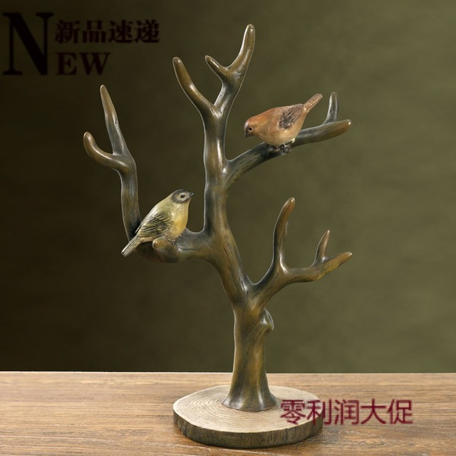 American High Quality resin Home Decoration Accessories Multicolour Jewelry Holder