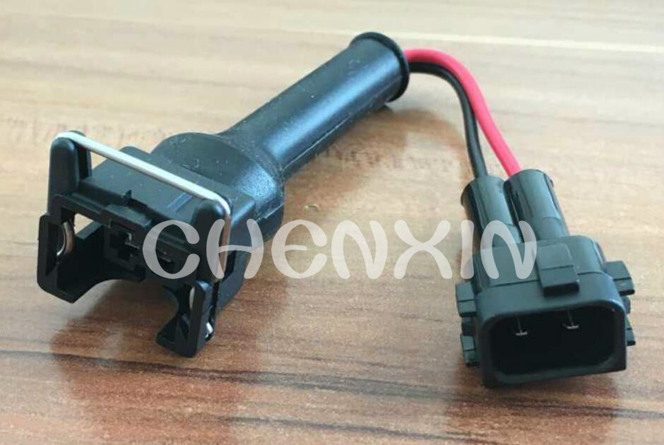 Boschs EV1 Female-HONDAS NH1 Male Wiring Harness Cable Sets Pigtails Auto Fuel Injector Connector Rubber Boot CXN021 от Aliexpress INT