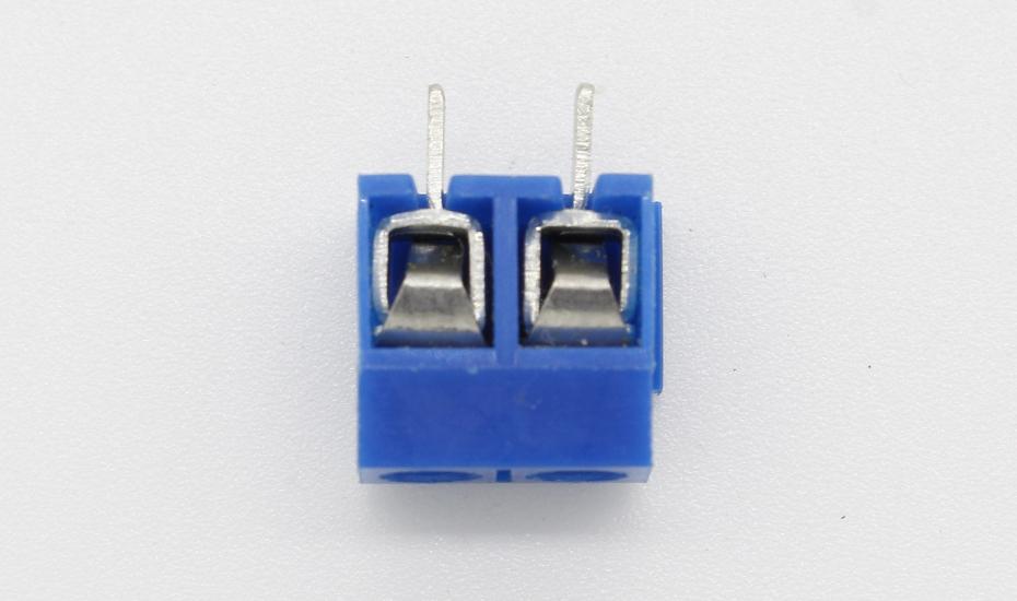 20pcs KF301-2P 2 Pin Plug-in Screw Terminal Block Contor 5.08mm Pitch