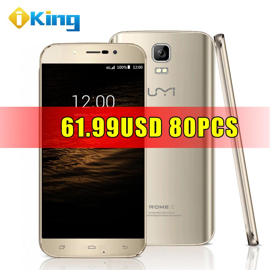 Original UMI ROME X Dual SIM 5.5 inch HD 1280x720 Android 5.1 Smart Phone Quad Core MTK6580 3G Cellphone 1G+8G mobile phone(China (Mainland))