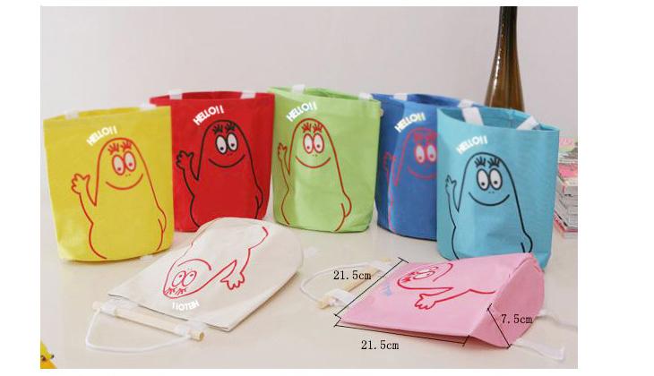 Hang Up Wall Storage Bag Cute Storage Decorative Hang Stuff Organizer Colors(China (Mainland))