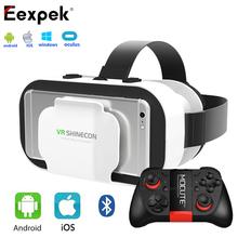 Vr shinecon 5.0 gafas 3d para 4.7-5.5 pulgadas teléfonos son compatibles con el objeto de ajuste ipd ajuste de realidad virtual auricular + mocute 050(China (Mainland))