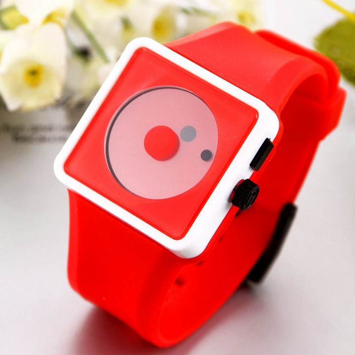 Casual Watch 2015 Sports watch Fashion women Smile Dot hours Quartz watches Unisex men Silicone Wristwatches(China (Mainland))