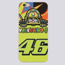 Valentino Rossi vr46 Design black skin case cover cell mobile phone cases for iphone 4 4s 5 5c 5s 6 6s 6plus hard shell