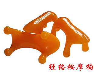 Beeswax dog massage dog power tiger of the meridian resin cervical vertebra massage device spine massage turtle gua sha board