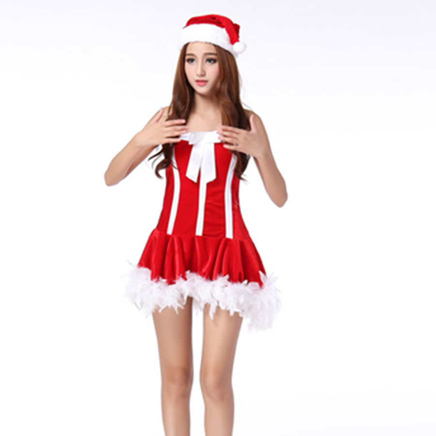 White Christmas Dress