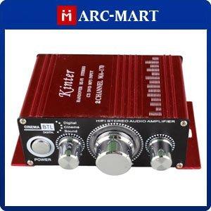 Kinter MA-170 Amplifier Red 2 Channel MINI Digital Power Amplifier MP3 Car DVD #AM091