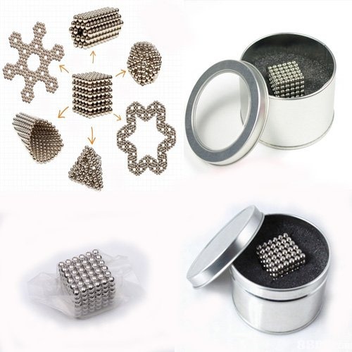 D4.8mm nickel Neocube buckyballs Magnetic balls Toy Magic cubes Christmas gifts(China (Mainland))