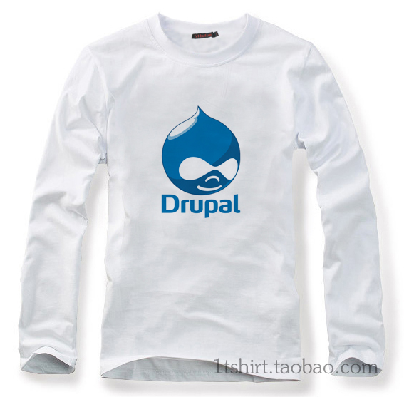 Autumn Php drupal T shirt cotton long-sleeve T-shirt(China (Mainland))