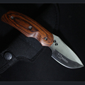 HIGHT QUALITY Buck OEM 076 Folding Blade OUTDOOR Knife Wood Handle Tactical Hunting Camping survival Knife