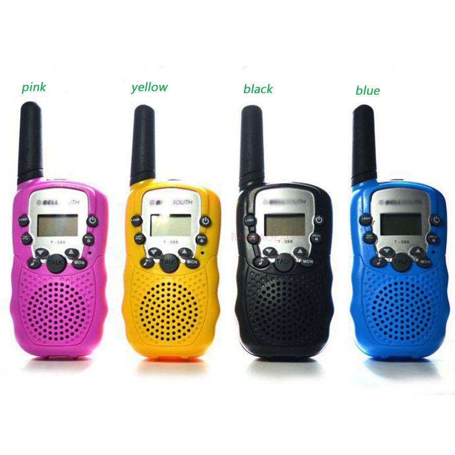 t-388 2pc portable Kids Walkie Talkie Pair pmr Radio Station For Amateur CB Radio Mobile Radio Transceiver Intercomunicador T388(China (Mainland))