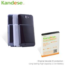 1 шт. / lot KANDESE марка черный дверь крышка + 8400 мАч высокая емкость расширенной аккумулятор для Samsung Galaxy Note 2 N7100 Note2 7100