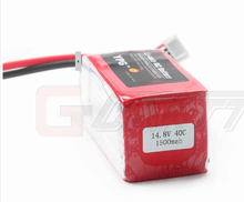 YPG 1500mAH 14.8V 40C 4S Lipo Li-Po Lipoly Battery for RC Hobby helicopter Airplane Boat