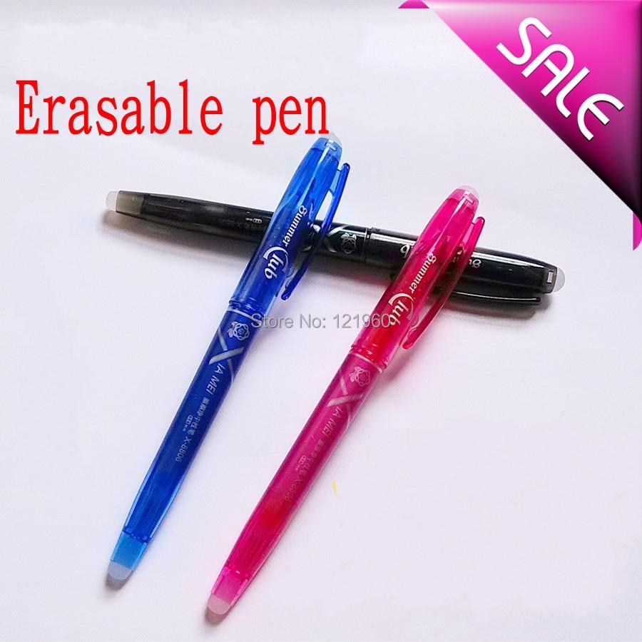 Pen isothermia unisex erasable pen 0.5mm rubber erasable pen<br><br>Aliexpress